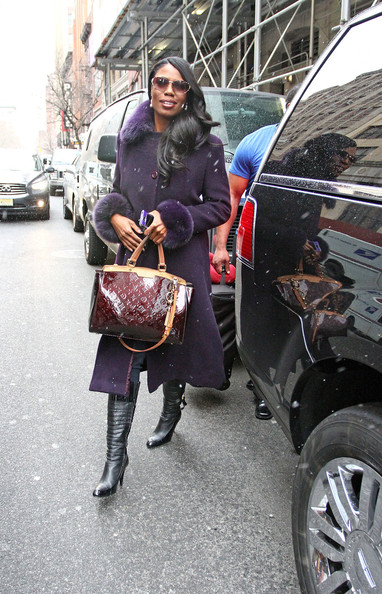 More Pics of Omarosa Manigault Wool Coat (4 of 9) - Omarosa Manigault Lookbook - StyleBistro