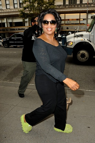 More Pics of Oprah Winfrey Slippers (1 of 22) - Oprah Winfrey Lookbook - StyleBistro