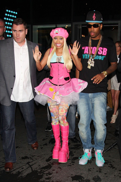 More Pics of Nicki Minaj Beret (1 of 7) - Nicki Minaj Lookbook - StyleBistro