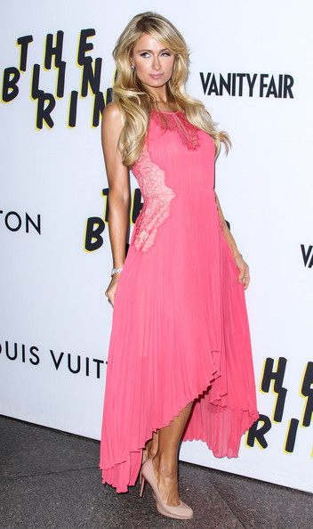 Paris Hilton Fishtail Dress
