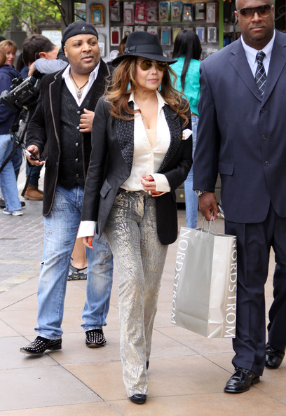 More Pics of La Toya Jackson Fedora (1 of 5) - La Toya Jackson Lookbook - StyleBistro