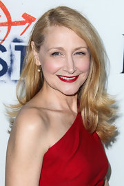 Patricia Clarkson rocked the glamorous side part and flipped ends while at the premiere of 'The East.'