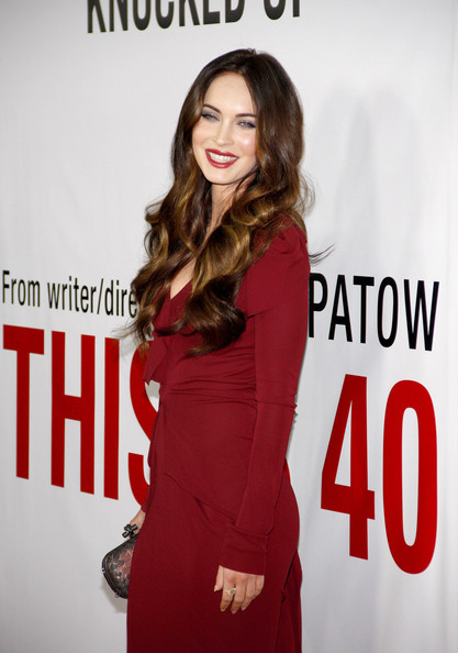 More Pics of Megan Fox Cocktail Dress (1 of 12) - Megan Fox Lookbook - StyleBistro