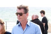 Pierce Brosnan Aviator Sunglasses