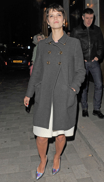 More Pics of Pixie Geldof Wool Coat (1 of 7) - Pixie Geldof Lookbook - StyleBistro