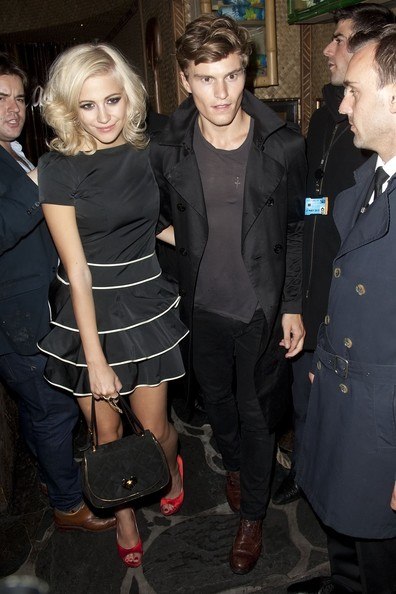 Pixie Lott Little Black Dress
