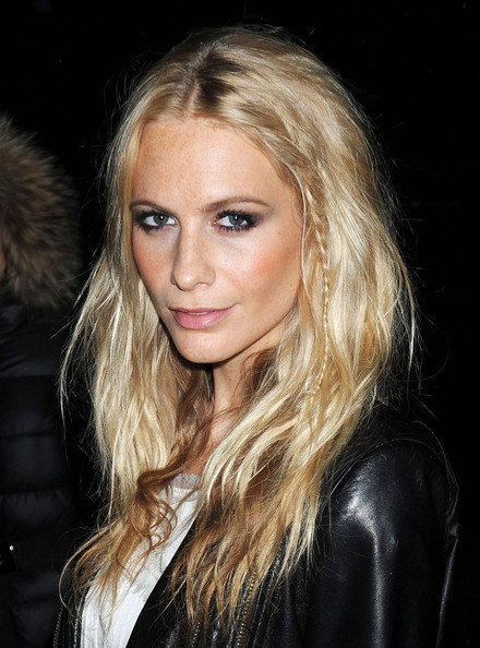 Poppy Delevingne Long Braided Hairstyle