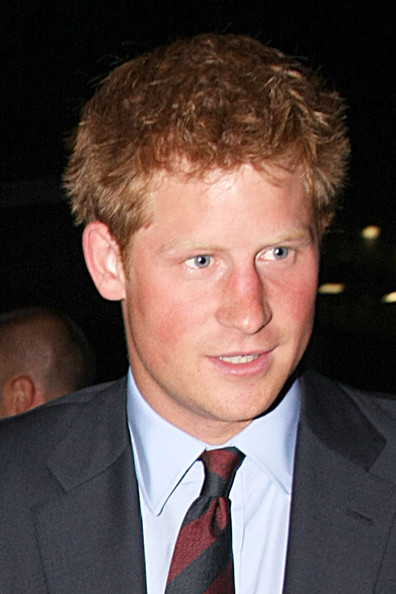 Prince Harry Messy Cut