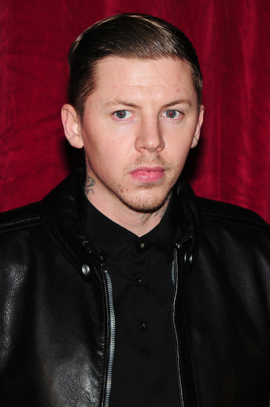 Professor Green Hair