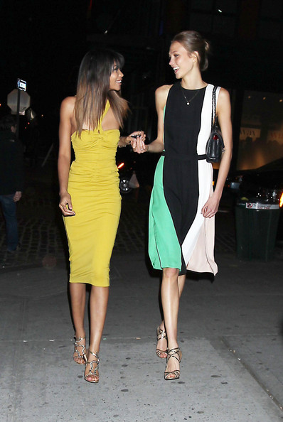 More Pics of Chanel Iman Cocktail Dress (1 of 5) - Chanel Iman Lookbook - StyleBistro