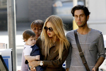 Rachel Zoe Joey Maalouf Rachel Zoe and Skyler Get Lunch