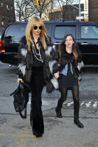 Rachel Zoe and Rodger Berman at Fashion Week in NYC