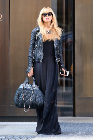 More Pics of Rachel Zoe Leather Jacket (1 of 5) - Rachel Zoe Lookbook - StyleBistro