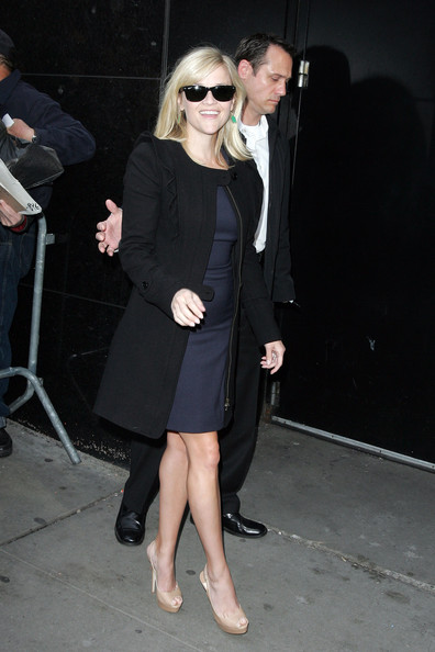 Reese Witherspoon Platform Pumps []