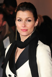 Bridget Moynahan added a layer of shimmery gloss over a layer of warm pink lipstick at the premiere of 'This Means War.'