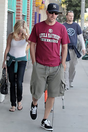 Jim Toth shows support for the Loyola Marymount Lions with this college t-shirt.