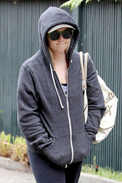 More Pics of Reese Witherspoon Zip-up Jacket (1 of 12) - Zip-up Jacket Lookbook - StyleBistro