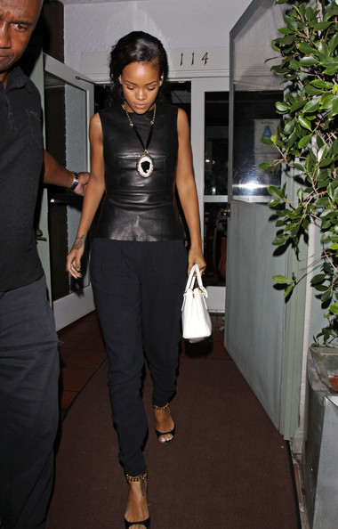 Rihanna Fitted Blouse