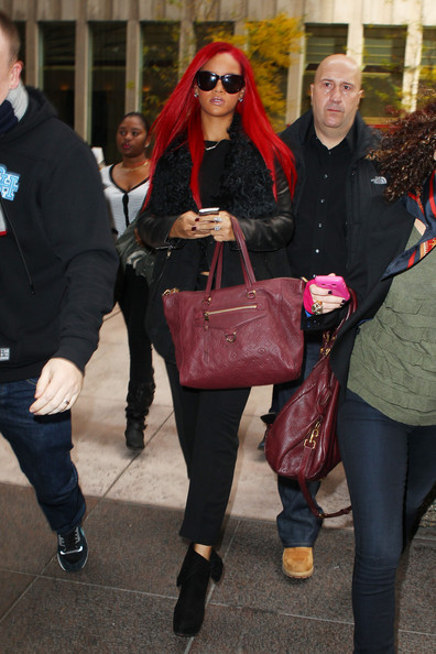 More Pics of Rihanna Long Straight Cut (1 of 13) - Rihanna Lookbook - StyleBistro