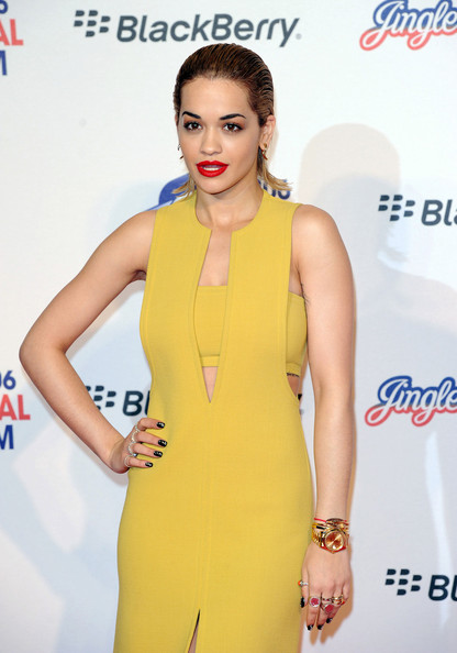 Celebs at the Jingle Ball in London