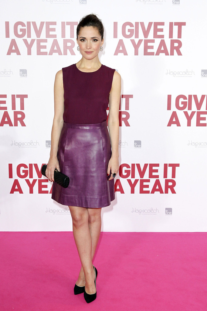 Rose Byrne attends the Sydney premiere of her new film 'I Give it One Year', held at the Event Cinemas.