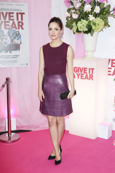 More Pics of Rose Byrne Leather Dress (3 of 7) - Dresses & Skirts Lookbook - StyleBistro
