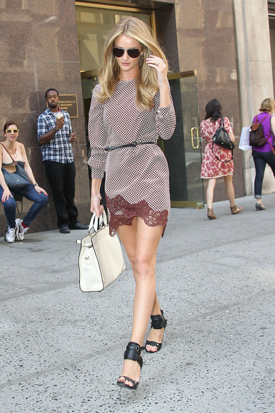 Rosie Huntington-Whiteley Print Dress