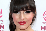 Roxanne Pallett Red Lipstick