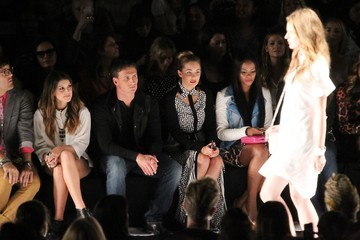 Ryan Lochte Lauren Conrad The Front Row at the Rebecca Minkoff Show