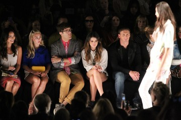 Ryan Lochte Shenae Grimes The Front Row at the Rebecca Minkoff Show