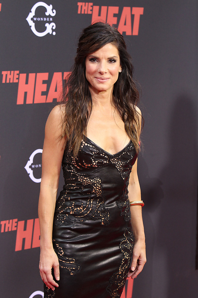 Stars at the 'Heat' Premiere