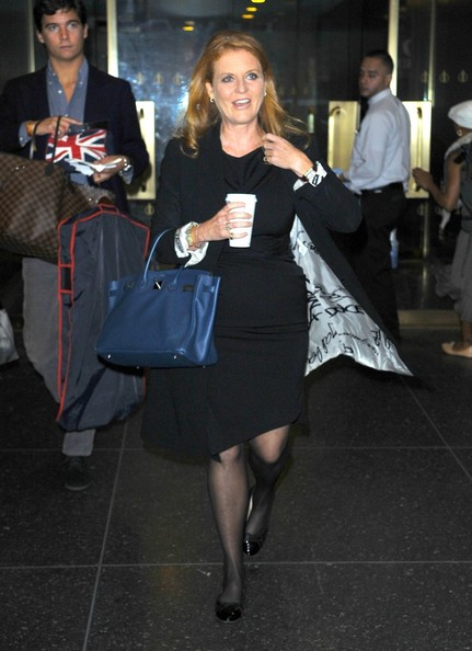 More Pics of Sarah Ferguson Patent Leather Tote (1 of 5) - Sarah Ferguson Lookbook - StyleBistro
