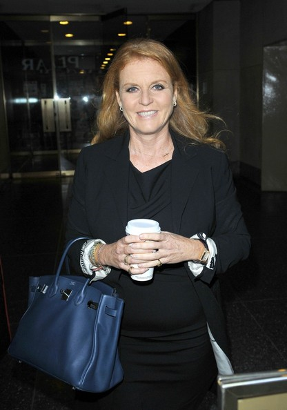 More Pics of Sarah Ferguson Patent Leather Tote (3 of 5) - Sarah Ferguson Lookbook - StyleBistro
