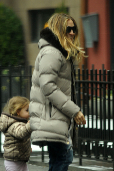 Sarah Jessica Parker Out With the Twins