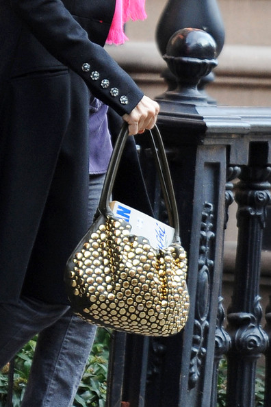 Sarah Jessica Parker Studded Shoulder Bag