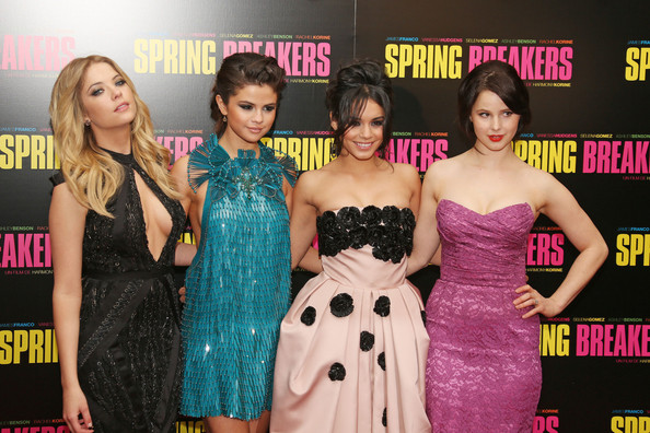 The Cast of 'Spring Breakers' in Paris