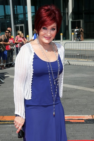 Sharon Osbourne Glass Beaded Necklace