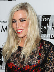 Natasha Bedingfield topped off her look with an edgy layered cut at the Evening with Women gala.