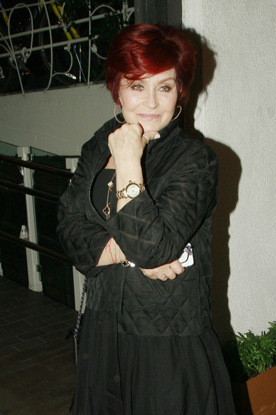 Sharon Osbourne Zip-up Jacket