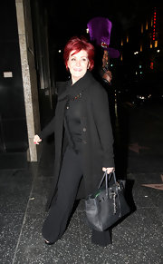 Sharon Osbourne sported another Birkin while out at Katsuya with her son Jack.