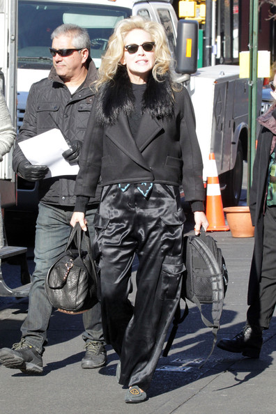 Sharon Stone Cargo Pants