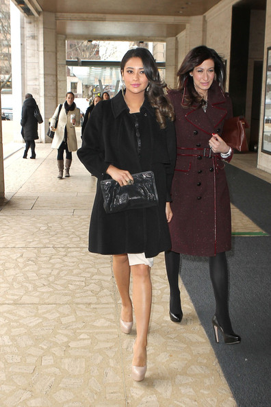 Shay Mitchell Wool Coat