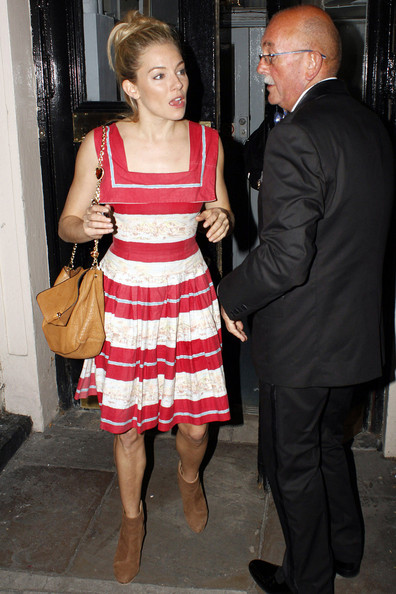Sienna Miller Day Dress