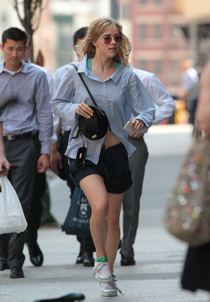Suki Waterhouse Fabric Bag