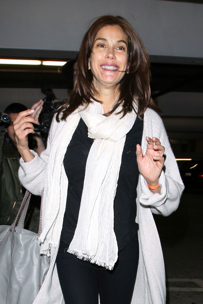 Teri Hatcher Wool Scarf