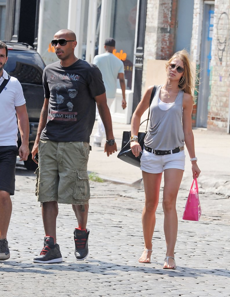 Thierry Henry Cargo Shorts Thierry Henry Clothes Looks