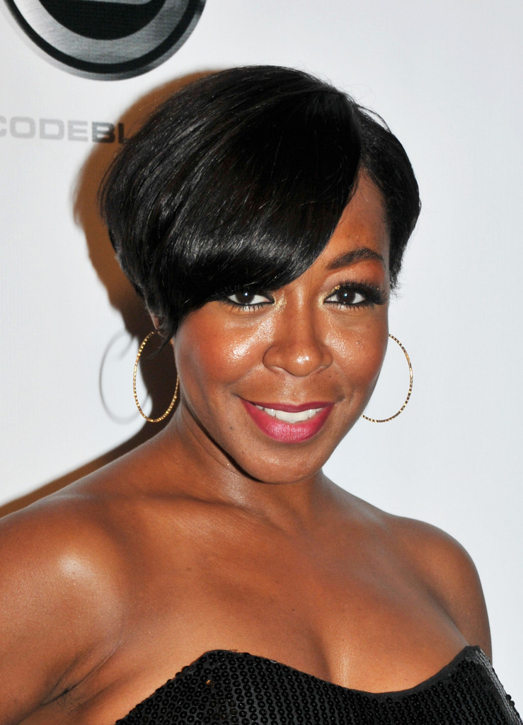 Tichina Arnold Short Side Part Short Side Part Lookbook