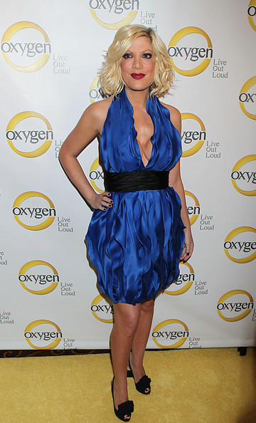 Tori Spelling Cocktail Dress