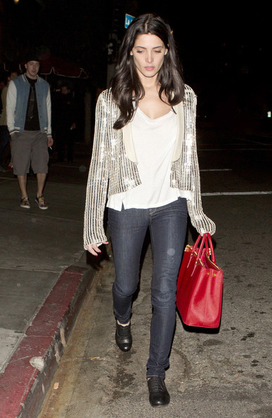 More Pics of Ashley Greene Cardigan (1 of 7) - Ashley Greene Lookbook - StyleBistro