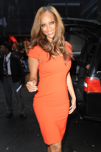 Tyra Banks Shirtdress